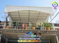 015.jpg - หลังคา กันสาด ไวนิล โครงสแตนเลส 304 | https://thai304.com
