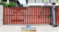 018.jpg - ประตูรั้วสแตนเลส ผสมอลูมิเนียมลายไม้ | https://thai304.com