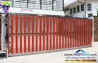 019.jpg - ประตูรั้วสแตนเลส ผสมอลูมิเนียมลายไม้ | https://thai304.com