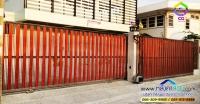 020.jpg - ประตูรั้วสแตนเลส ผสมอลูมิเนียมลายไม้ | https://thai304.com