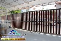 034.jpg - ประตูรั้วสแตนเลส ผสมอลูมิเนียมลายไม้ | https://thai304.com