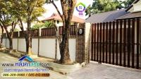 048.jpg - ประตูรั้วสแตนเลส ผสมอลูมิเนียมลายไม้ | https://thai304.com