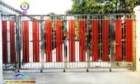 094.jpg - ประตูรั้วสแตนเลส ผสมอลูมิเนียมลายไม้ | https://thai304.com