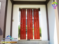 099.jpg - ประตูรั้วสแตนเลส ผสมอลูมิเนียมลายไม้ | https://thai304.com