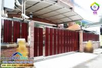 120.jpg - ประตูรั้วสแตนเลส ผสมอลูมิเนียมลายไม้ | https://thai304.com