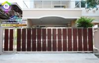 132.jpg - ประตูรั้วสแตนเลส ผสมอลูมิเนียมลายไม้ | https://thai304.com